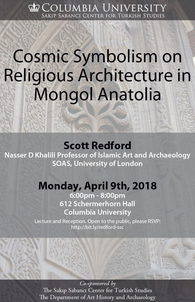 Cosmic Symbolism On Religious Architecture In Mongol Anatolia